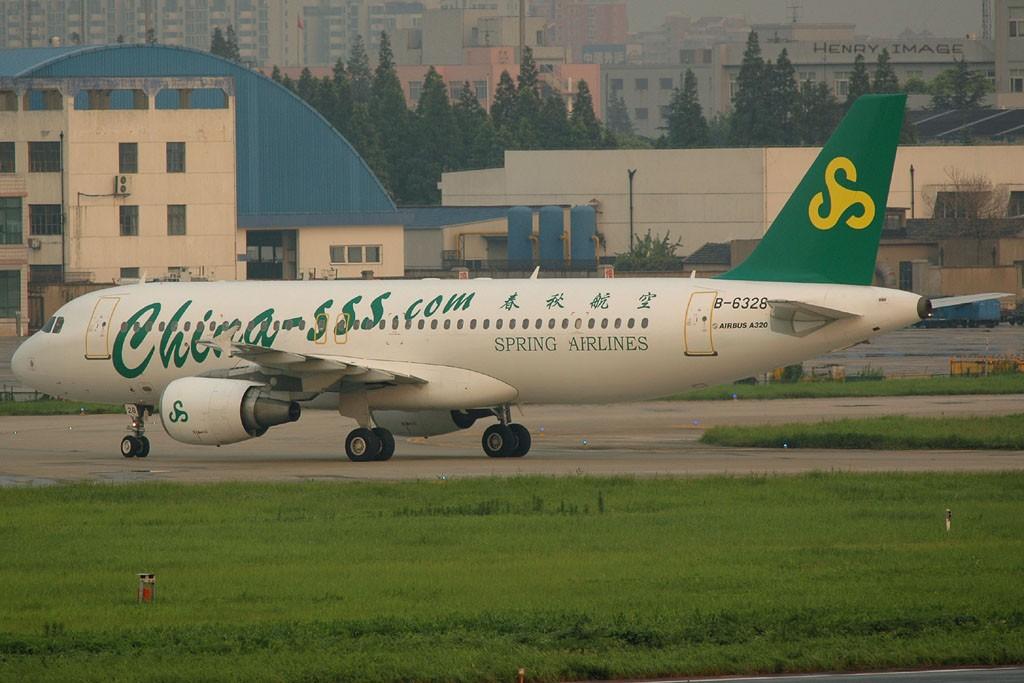 Re:春秋的第八架320 B-6328~ AIRBUS A320-214 B-6328 中国上海虹桥机场