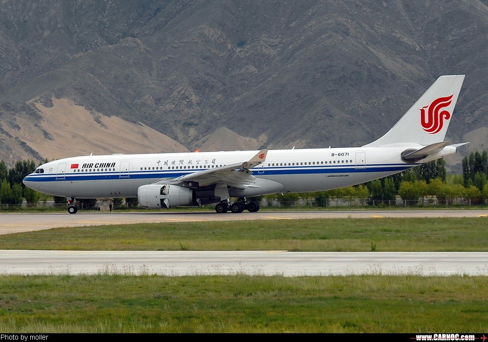 Re:[原创]8月8日,LXA,阴转多云 AIRBUS A330-200 B-6071 中国拉萨贡嘎机场