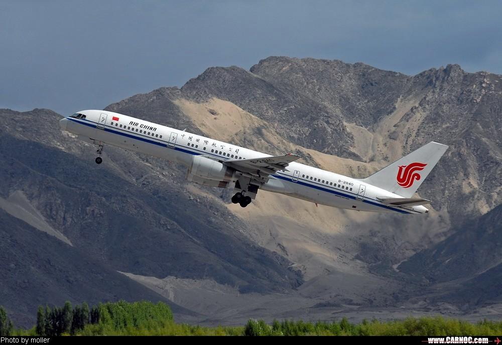 Re:[原创]8月8日,LXA,阴转多云 BOEING 757-200 B-2840 中国拉萨贡嘎机场