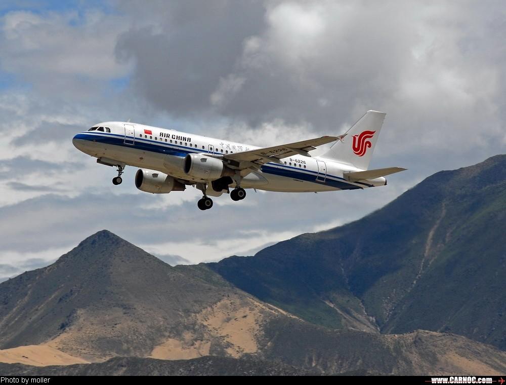 Re:[原创]8月8日,LXA,阴转多云 AIRBUS A319-100 B-6226 中国拉萨贡嘎机场