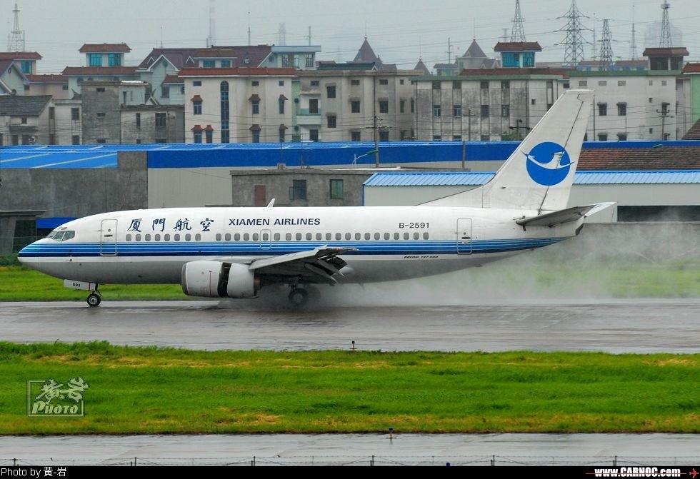 "Re:也去看看传说中的""吹水"" BOEING 737-500 B-2591 中国杭州萧山机场"