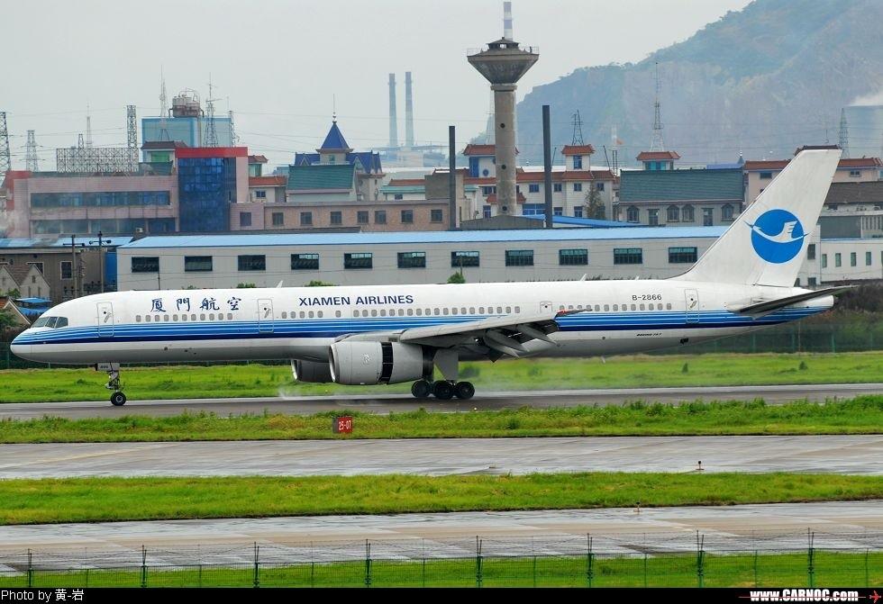 "Re:[原创]也去看看传说中的""吹水"" BOEING 757-200 B-2866 中国杭州萧山机场"
