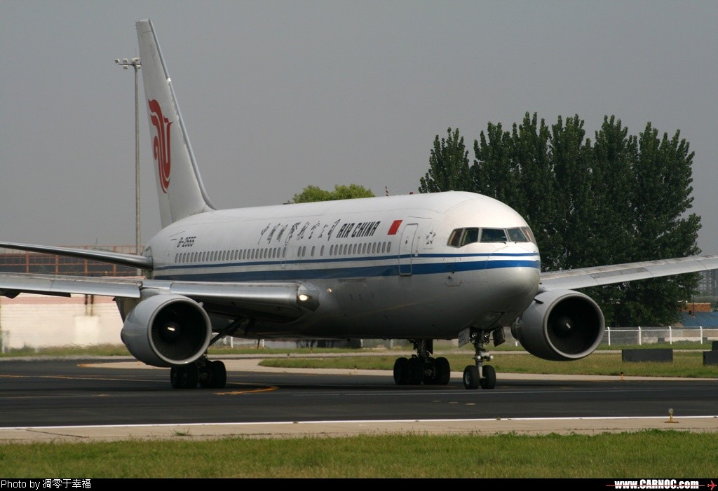 Re:[原创]红红的767+背部和小翼,庆祝我767啦~~~~~~~~~~~~ BOEING -BOEING 767-200 B-2555 北京首都国际机场