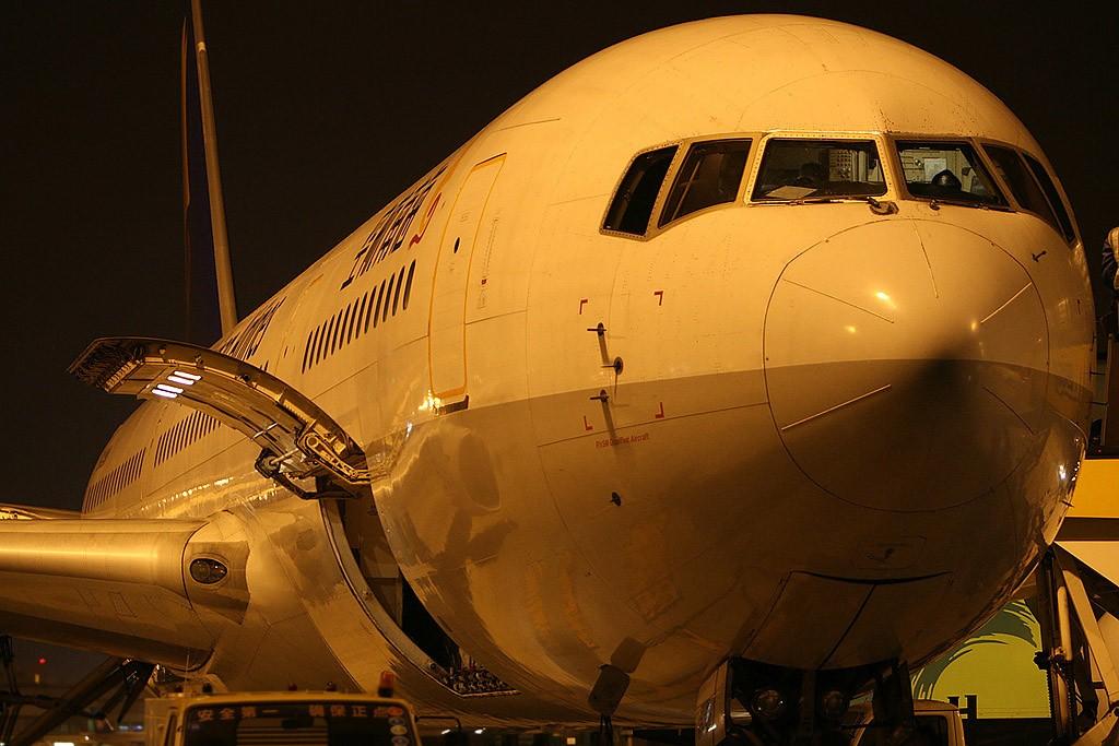 Re:[原创]红红的767+背部和小翼,庆祝我767啦~~~~~~~~~~~~ BOEING 767-300 B-2490 中国北京首都机场