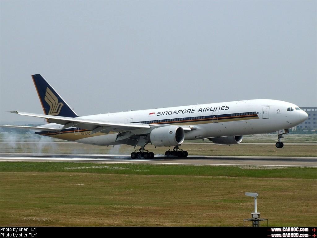 Re:[原创]晒黑晒黑再晒黑,历时一个半月,终于爬到777了~~~~~~~~~~~~ BOEING 777-200 9V-SRC 中国南京禄口机场