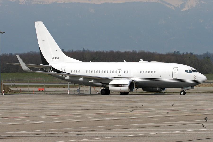 [原创]☆★☆ Feeyo公务机展,欢迎跟贴 ☆★☆ BOEING 737-700 VP-BRM Switzerland GENEVA