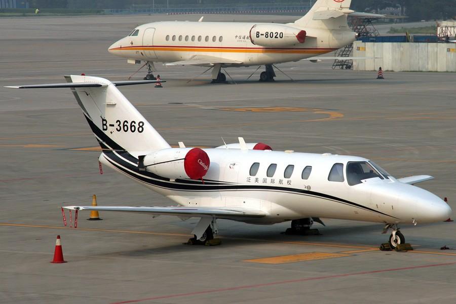 Re:[原创]☆★☆ Feeyo公务机展,欢迎跟贴 ☆★☆ CESSNA 525 CJ1 B-3668 中国北京首都机场