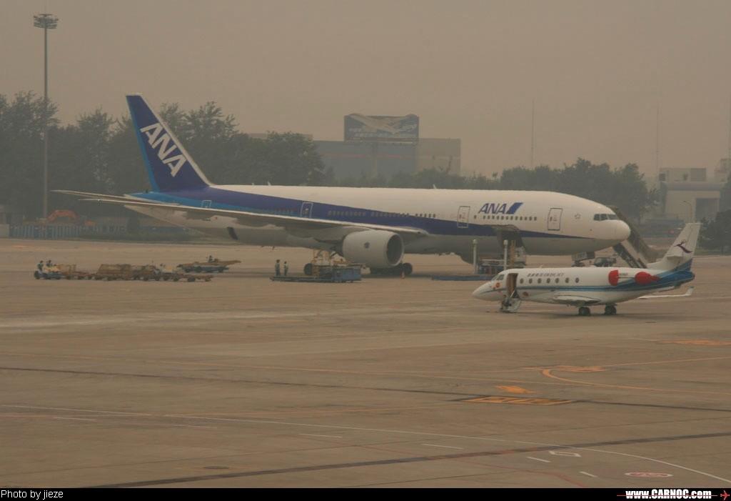 Re:[原创]一百天的努力现在升到777啦,祝贺祝贺自己(看贴者送一架,回贴者送二架) 777  中国北京首都机场