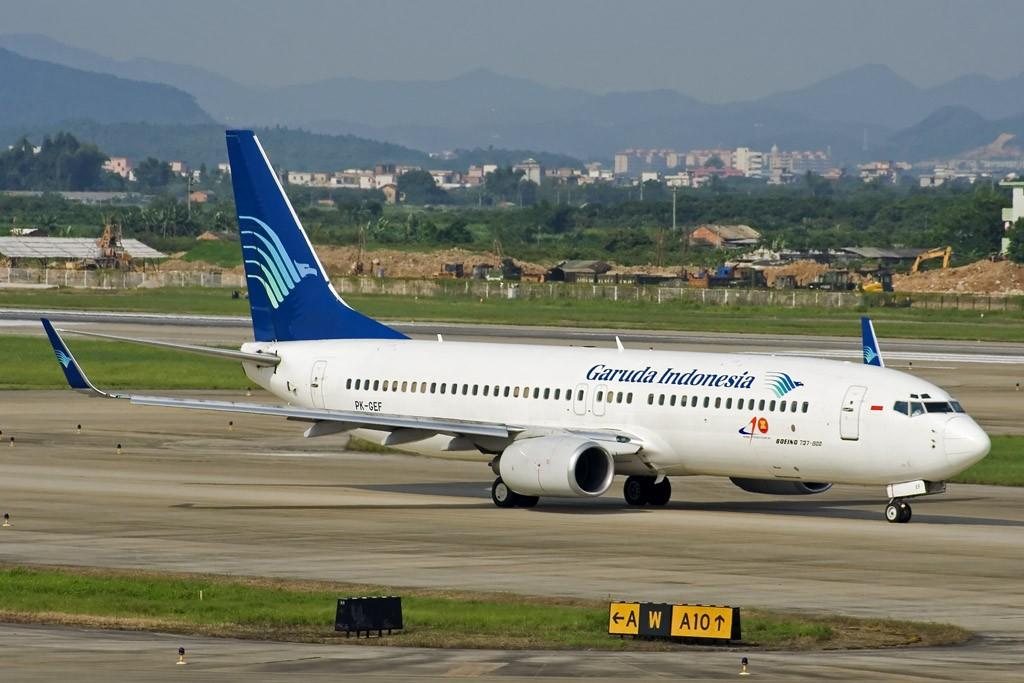 [原创][CASG]好久没有发图了! BOEING 737-800 PK-GEE 中国广州白云机场