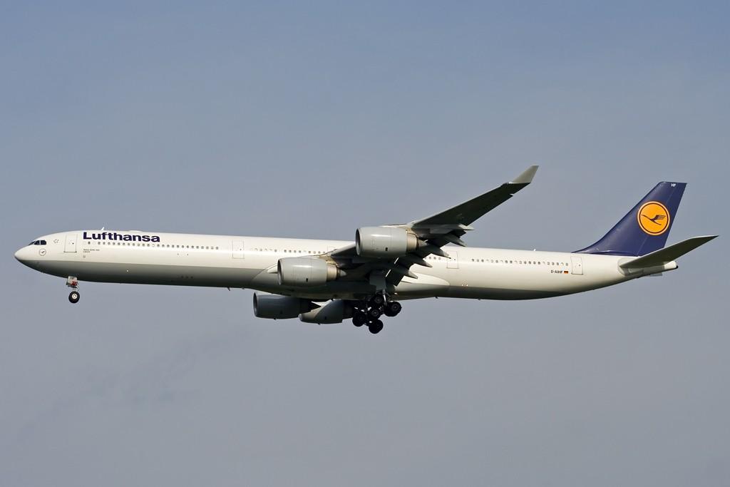 Re:[原创][CASG]好久没有发图了! AIRBUS A340-600 D-AIHF 中国广州白云机场