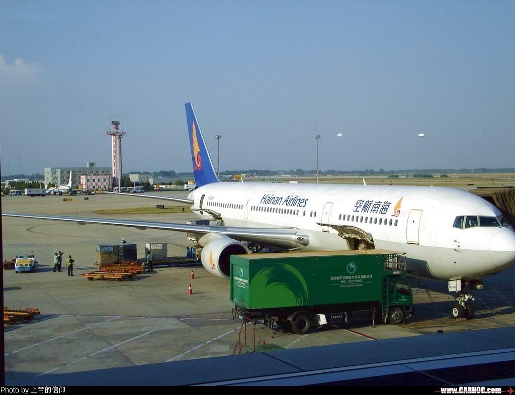 升到自己最喜欢的767,可自己倒没拍多少767 BOEING 767-300 B-2492 中国北京首都机场