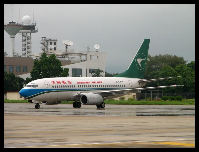 [原创]不发那么多,就只来一张 B737-700 B-5026 南宁吴圩国际机场