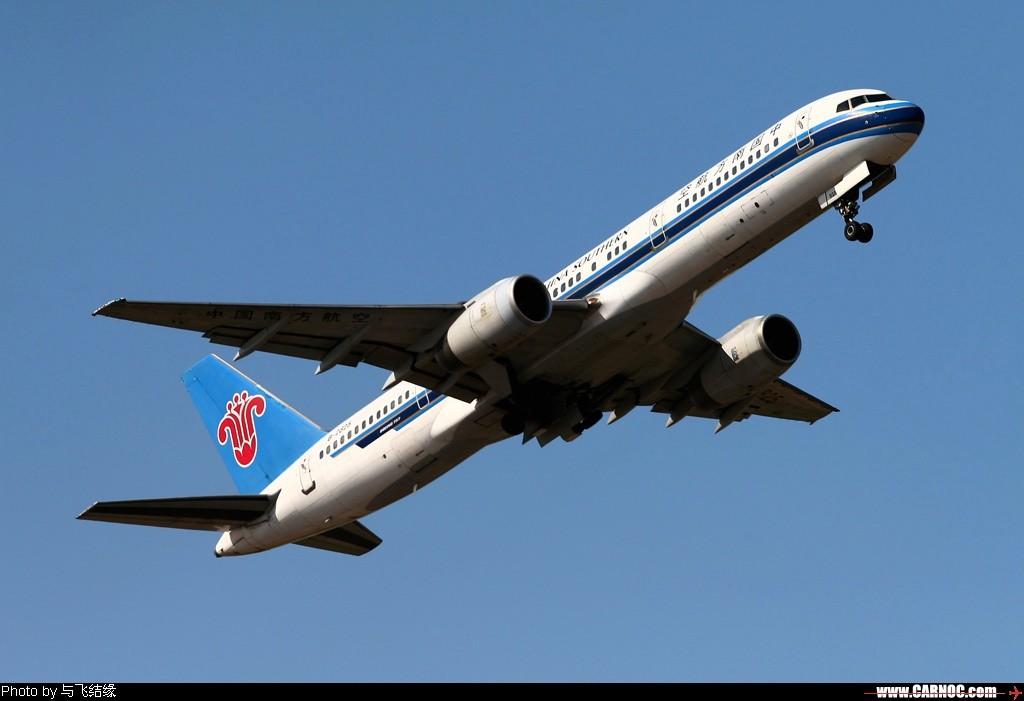 [原创]*#*#*#*#蓝天中的红棉花*#*#*#*# BOEING 757-200 B-2825 中国北京首都机场