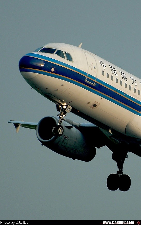 re:[原创]起飞-南航2369(sha) airbus a320-200 b-2369 中国上海虹桥图片