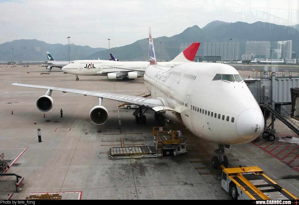 [原创]布吉之旅~~~泰国东方航空HKG——HKT游记 747-200 HSUTQ 中国香港赤喇角机场