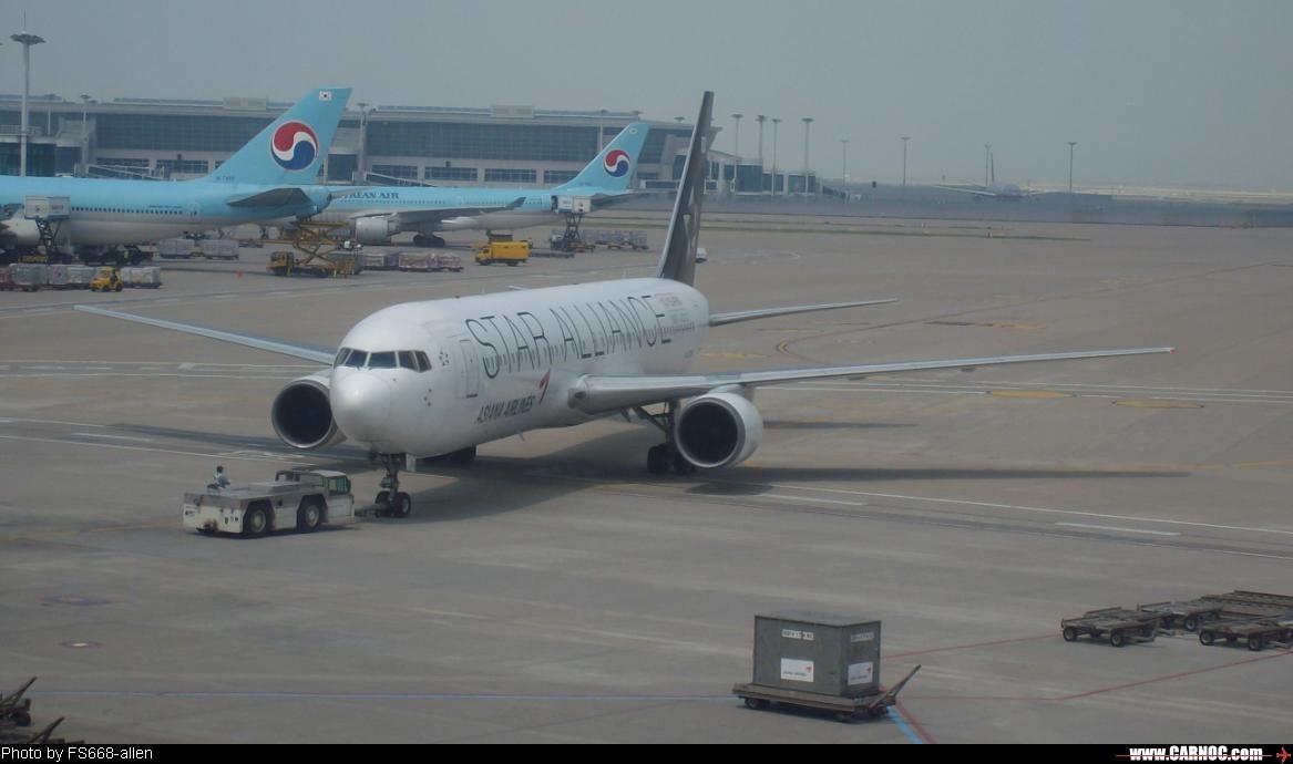 Re:[原创]星空联盟--欢迎大家跟帖 BOEING 767-300 HL7516 首尔国际机场