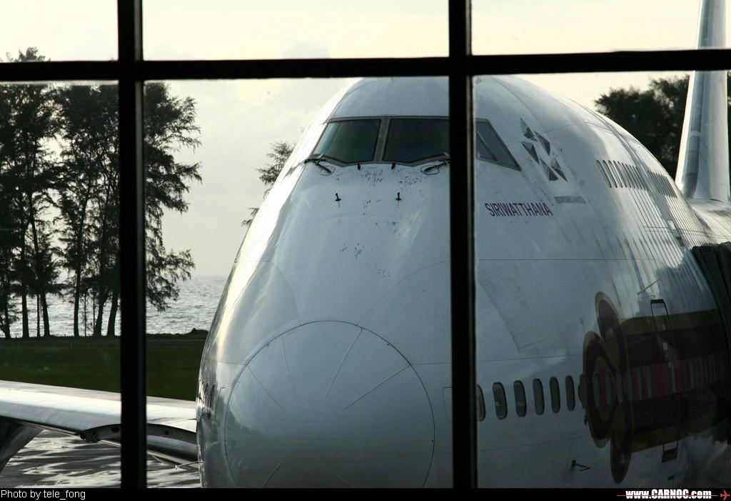 Re:[原创]布吉之旅~~~泰国东方航空HKG——HKT游记 747-400  PHUKET INT