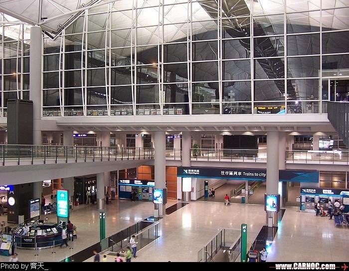Re:[原创]机场的候机地带---航站楼—国内(欢迎大家跟帖)    中国香港赤喇角机场