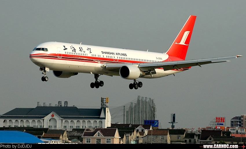 Re:小翼上空的767-300 BOEING 767-300 B-2566 中国上海虹桥机场