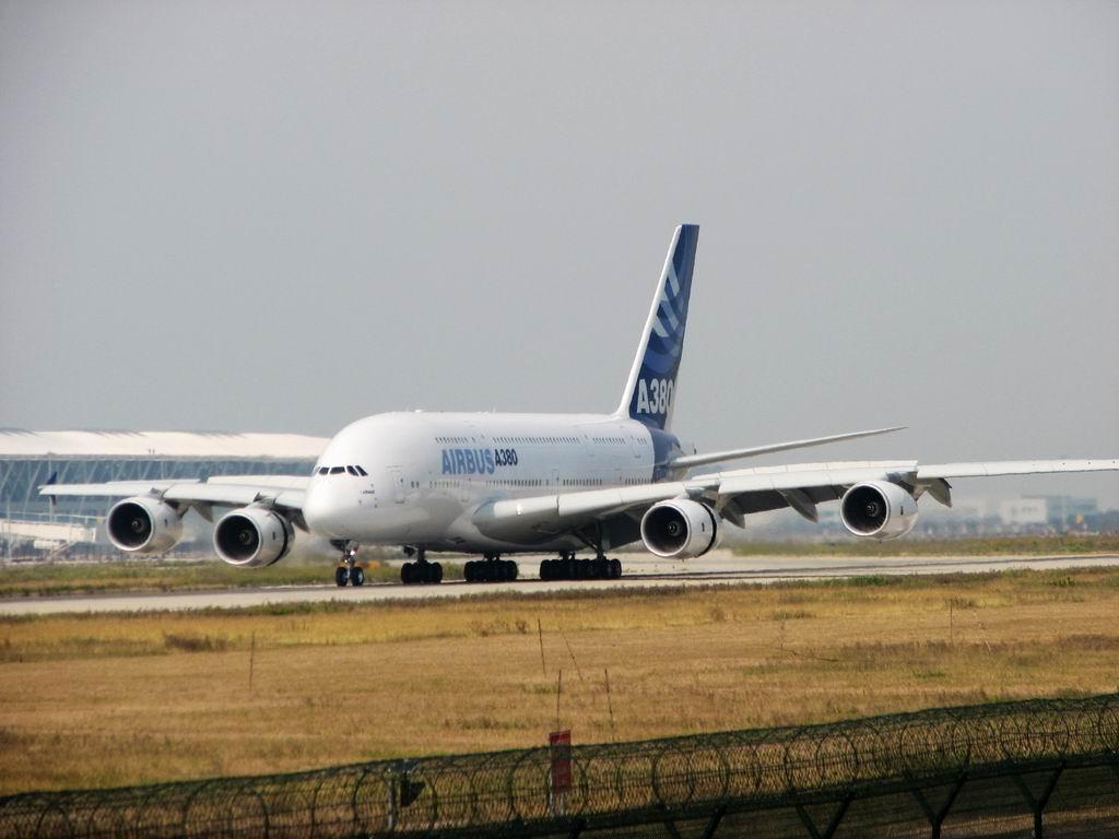 [原创]从NKG 到 PVG ,380我们为你而来 AIRBUS A380 F-WWJB 中国上海浦东机场