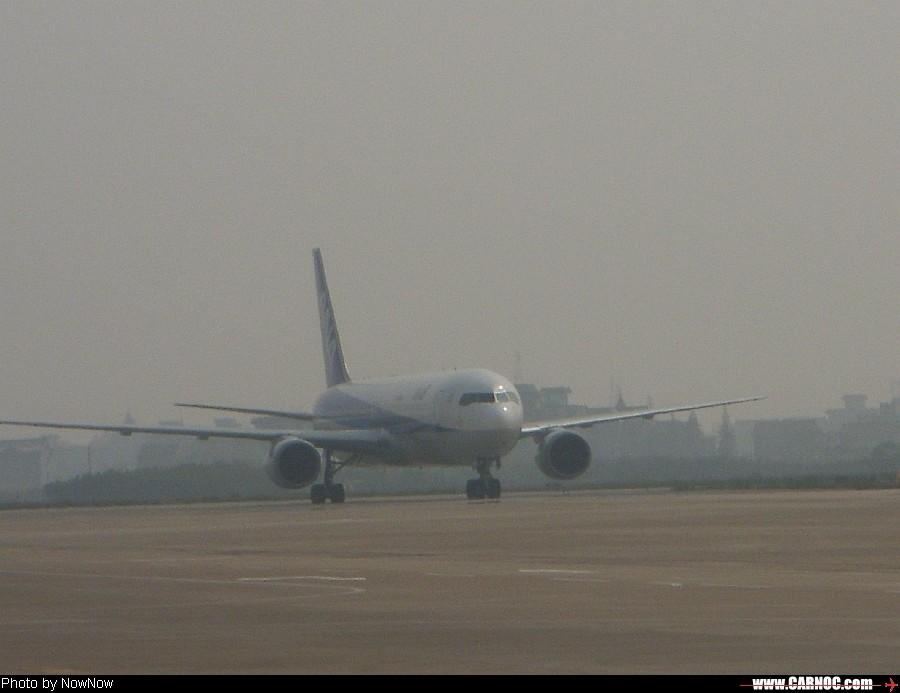 Re:10月26日的杭州 BOEING 767-300  中国杭州萧山机场