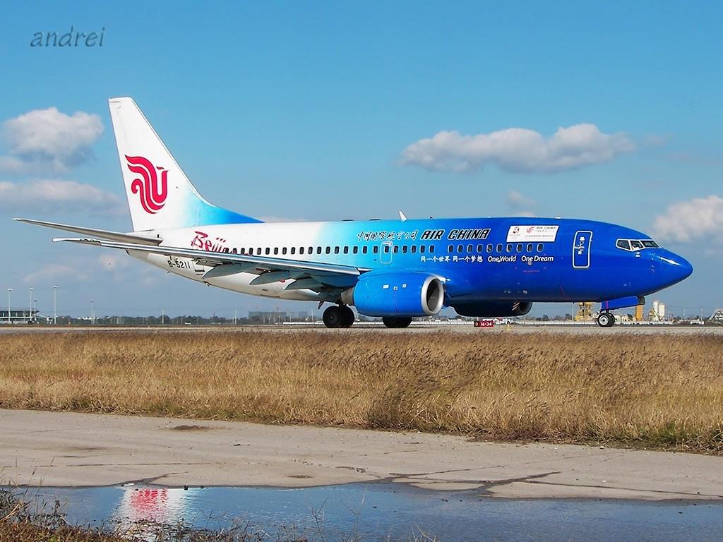 [原创]TSN的完美天气再次带来滑行美图 BOEING 737-700 B-5211 中国天津滨海机场