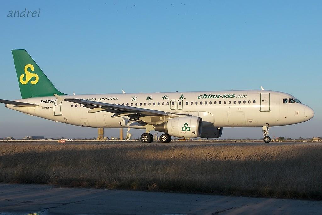 Re:[原创]TSN的完美天气再次带来滑行美图 AIRBUS A320-200 B-6250 中国天津滨海机场