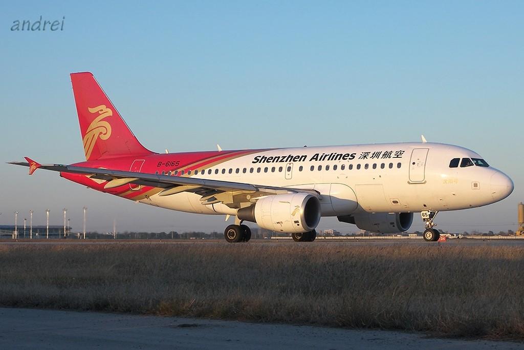 Re:[原创]TSN的完美天气再次带来滑行美图 AIRBUS A319-100 B-6165 中国天津滨海机场