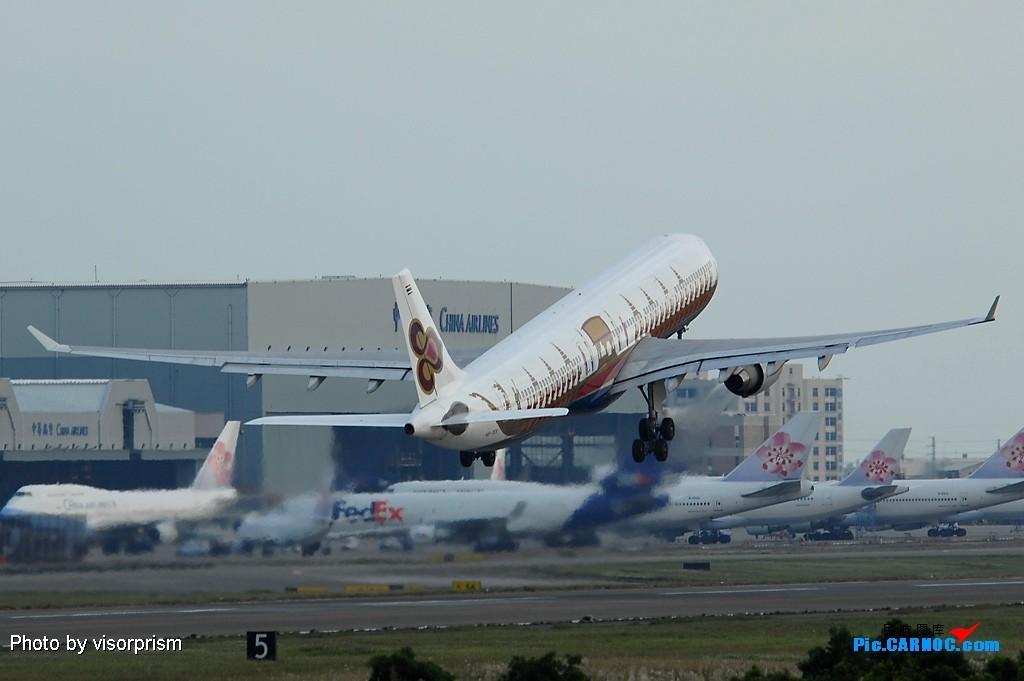 Re:[原创]慶祝全球杭州飛友會成立,發幾張圖玩玩 AIRBUS A330-322 HS-TEK 台灣桃園國際機場