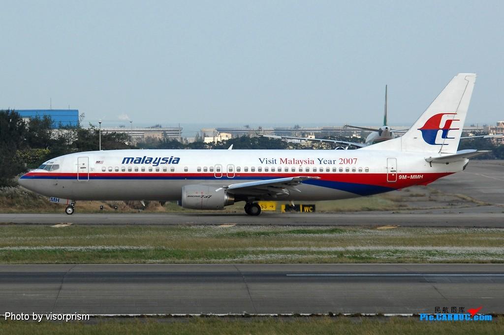 Re:[原创]慶祝全球杭州飛友會成立,發幾張圖玩玩 BOEING 737-4H6 9M-MMH 台灣桃園國際機場