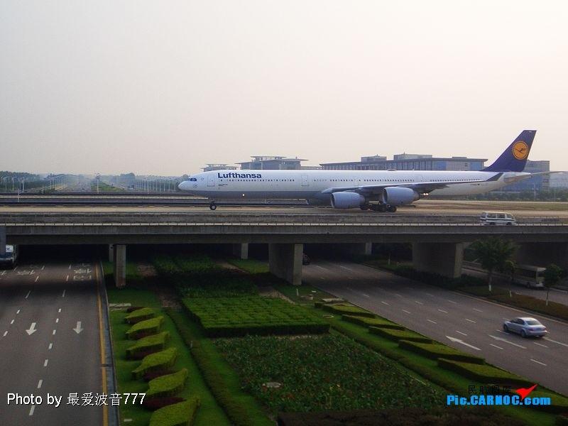 Re:新人第一次发图,请多多关照 AIRBUS A340-600  广州白云国际机场