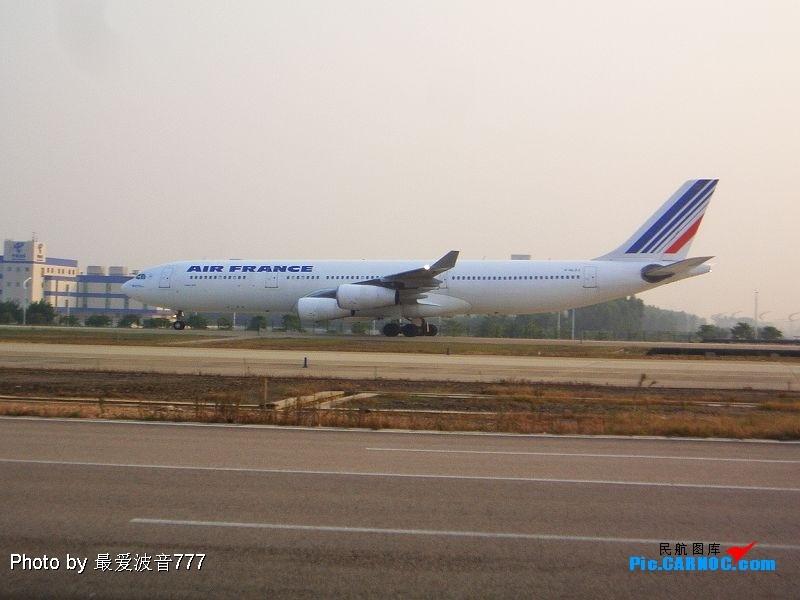 Re:新人第一次发图,请多多关照 AIRBUS  A340-300  广州白云国际机场