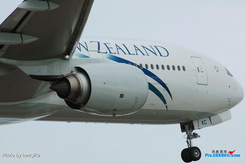 "Re:[原创]图贺自己也升级""三个拐"" BOEING 777-219(ER) ZK-OKC 中国上海浦东机场"