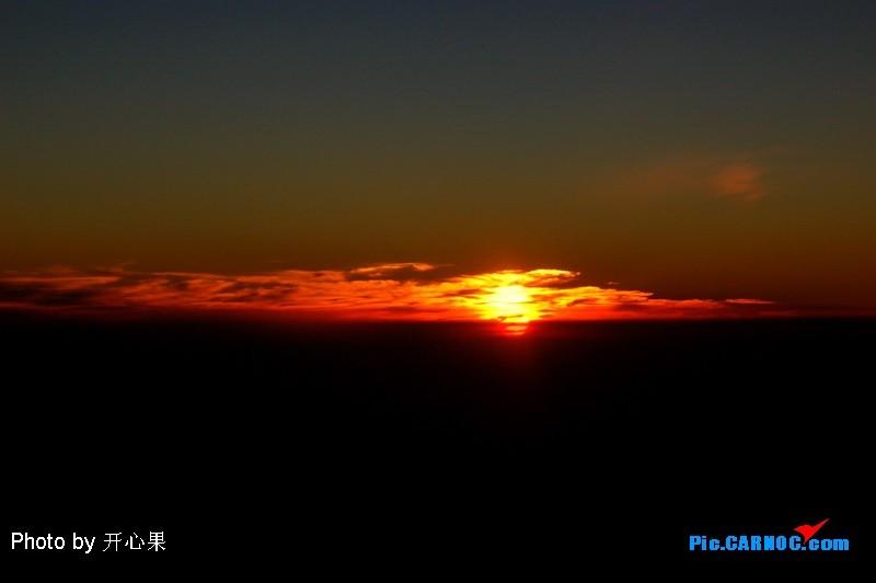 [原创]在云上看落日