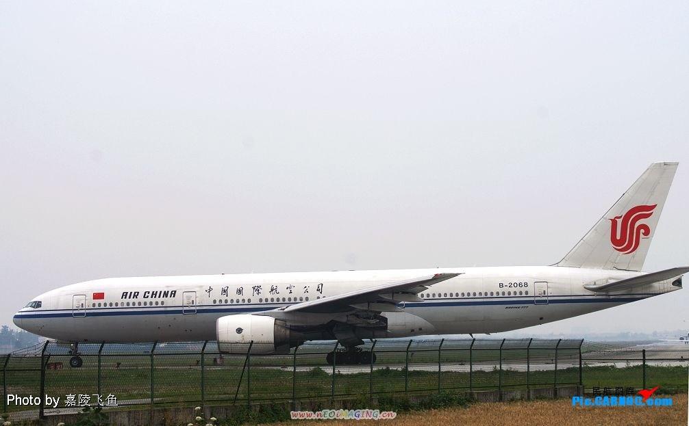 "Re:[原创]图贺自己也升级""三个拐"" BOEING 777-200 B-2068 中国成都双流机场"