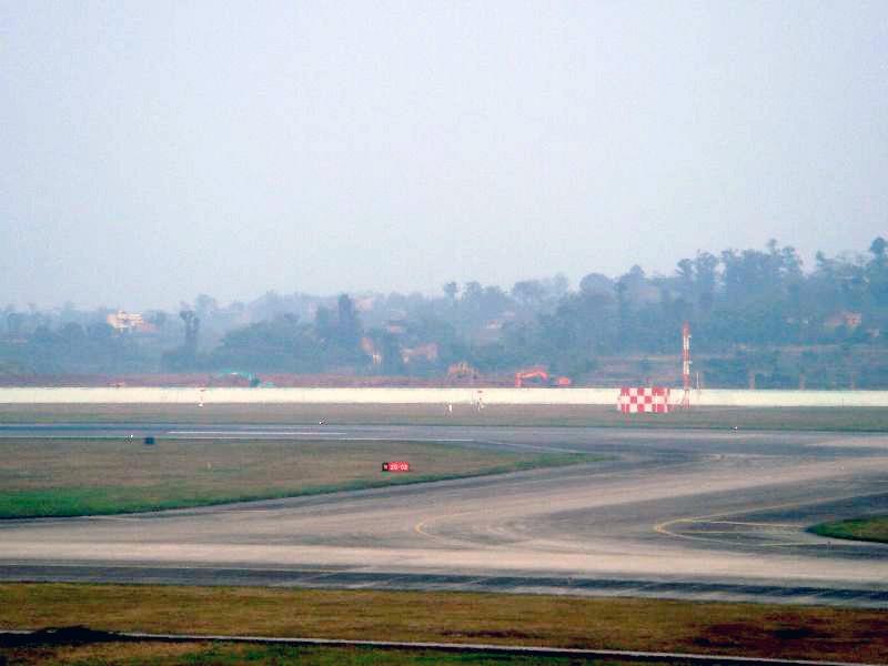 重庆江北国际机场第二跑道已经开工建设 中国重庆江北机场