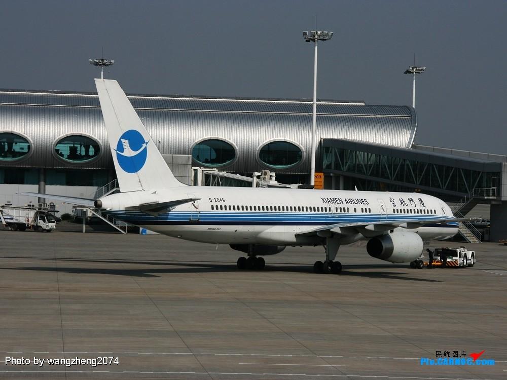 Re:重庆到北京,无聊的延误 BOEING 757-200 B-2849 中国重庆江北机场