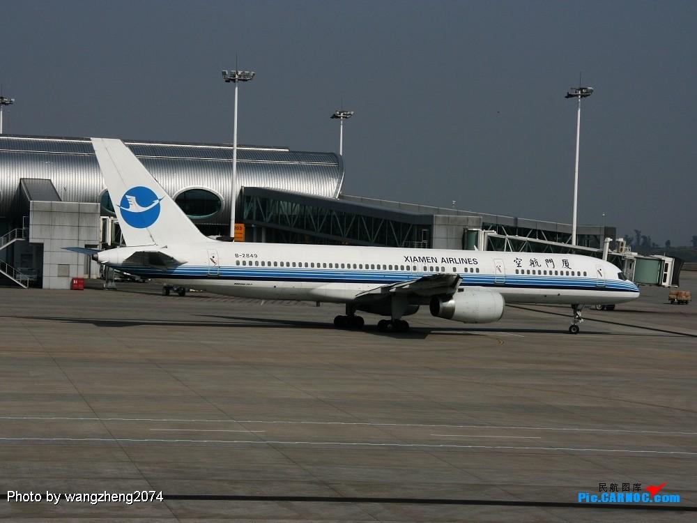 Re:[转贴]重庆到北京,无聊的延误 BOEING 757-200 B-2849 中国重庆江北机场