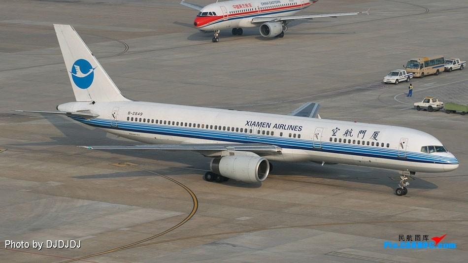Re:原创:重庆到北京,无聊的延误 BOEING 757-200 B-2849 中国上海虹桥机场
