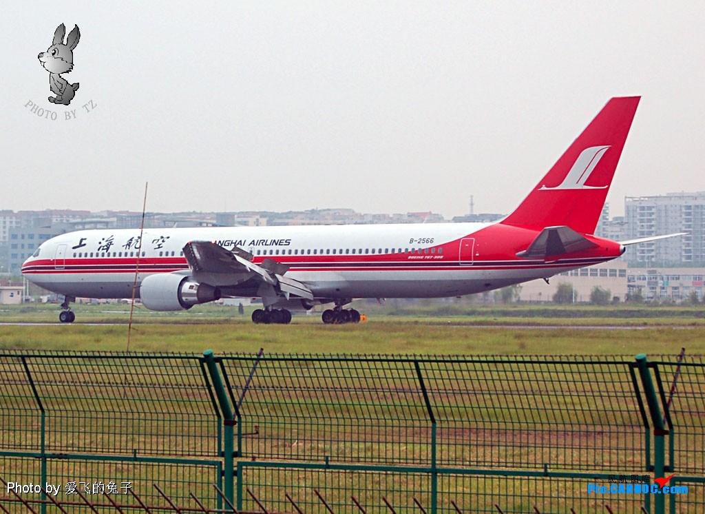Re:767了,发图庆祝! BOEING 767-300 B-2566 中国重庆江北机场