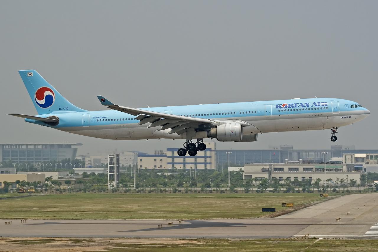 [CASG]闲来无聊发个大韩 A330-300 HL7710