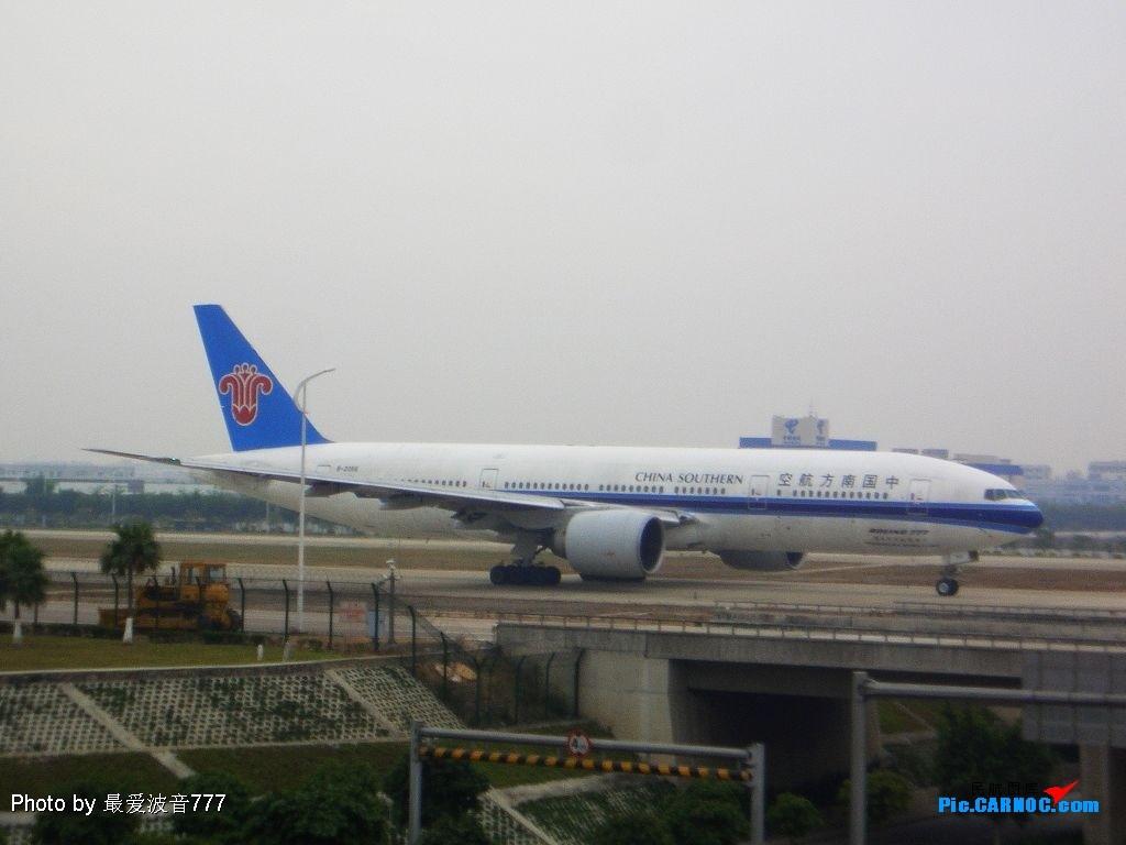 Re:[原创]今天的白云机场,有新东东降落 BOEING777-21B(ER) B-2056 广州白云国际机场