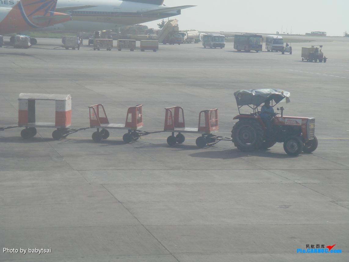 Re:拖拉機的春天(印度BANGALORE機場)