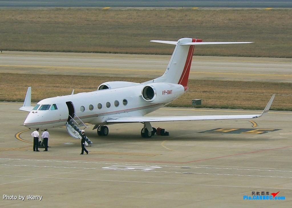 Re:[原创]再次到访厦门,拍到了几个希罕的灰机! GULFSTREAM V VP-BMY 厦门高崎国际机场