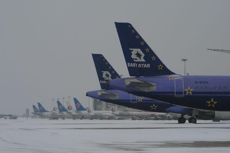 Re:[原创]08年武汉机场的第一场雪 AIRBUS A320-214 B-6336 武汉