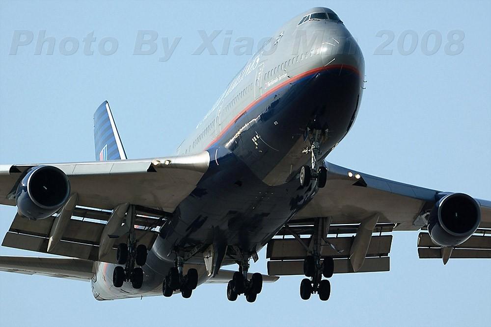 [原创]每次去浦东,基本上看见的都是这咱涂装... BOEING 747-400 N173UA 中国上海浦东机场