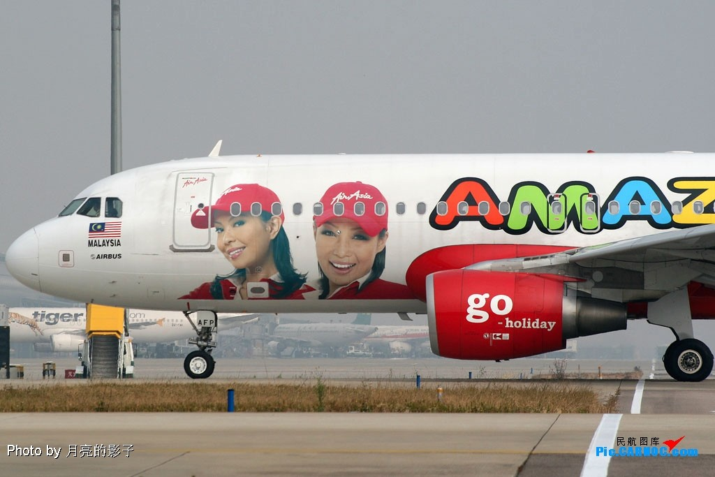 Re:[CASG]Amazing CAN , Amazing AirAsia !! AIRBUS A320-200 9M-AFP 中国广州白云机场