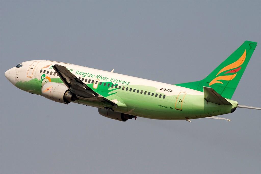 [原创][深圳打机队]===手痒,一张,扬子江=== BOEING 737-300 B-5055 深圳宝安国际机场