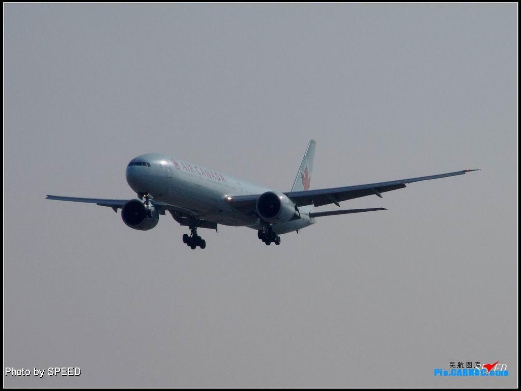 加航和家航 773 C-FITU PEK