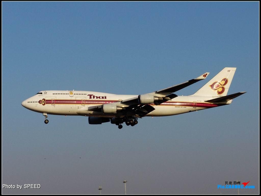 Re:今日泰航在我拍摄完毕后刹爆轮胎. 747-400 HS-TGY PEK